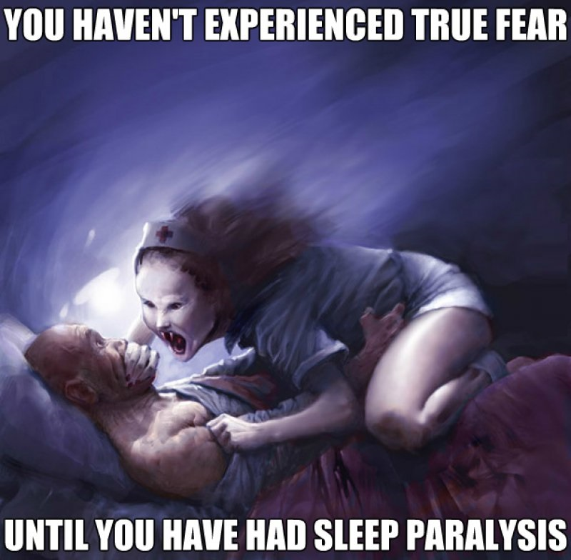 Sleep Paralysis!-12 Funny Sleep Memes That Will Make Your Day