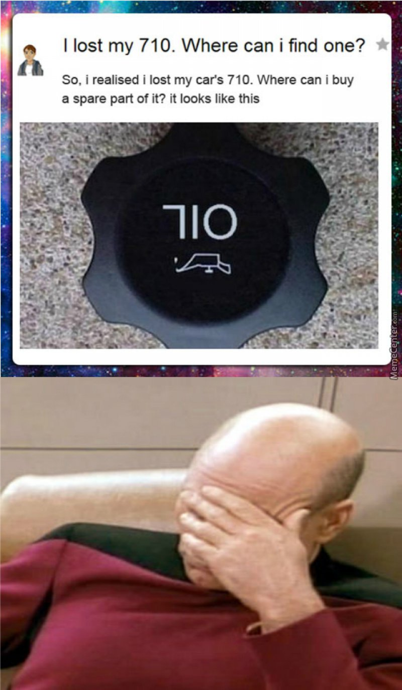 Someone Lost Their 710!-12 Funny Facepalm Memes That Will Make You Lol
