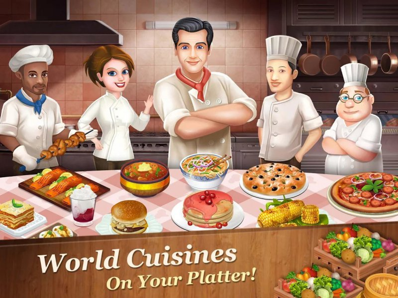 Star Chef-12 Best Restaurant Games For IOS And Android