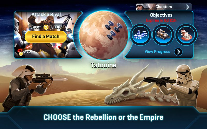 Star Wars: Commander-12 Best War Strategy Games For IOS And Android