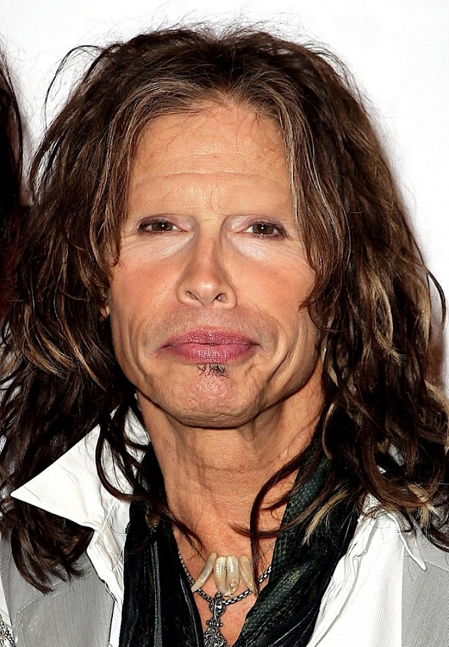 Steve Tyler-15 Celebrities Without Eyebrows You Never Seen Before