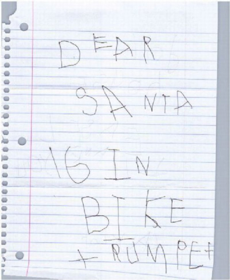 Straight To The Point Santa Letter-12 Hilarious Letters Ever Written To Santa Claus
