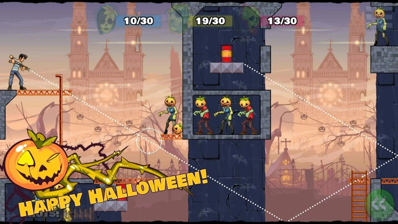 Stupid Zombies 3-12 Best Zombie Survival Games For IOS And Android