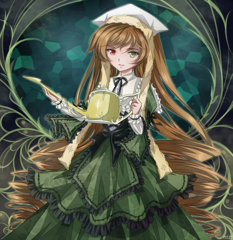 Suiseiseki (Rozen Maiden)-12 Hottest Anime Girls Of 2017