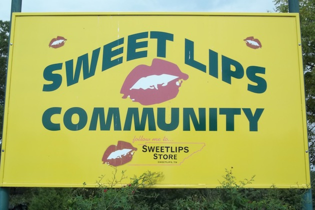 Sweet Lips, Tennessee-12 Funniest US Town Names