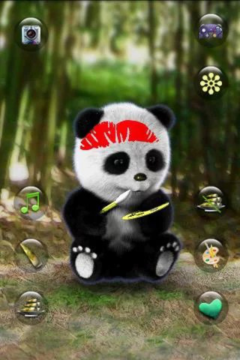 Talking Panda-12 Best Panda Games For IOS And Android