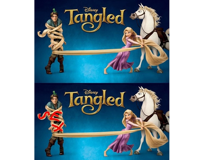 Tangled-15 Disney Subliminal Messages That Will Blow You Away