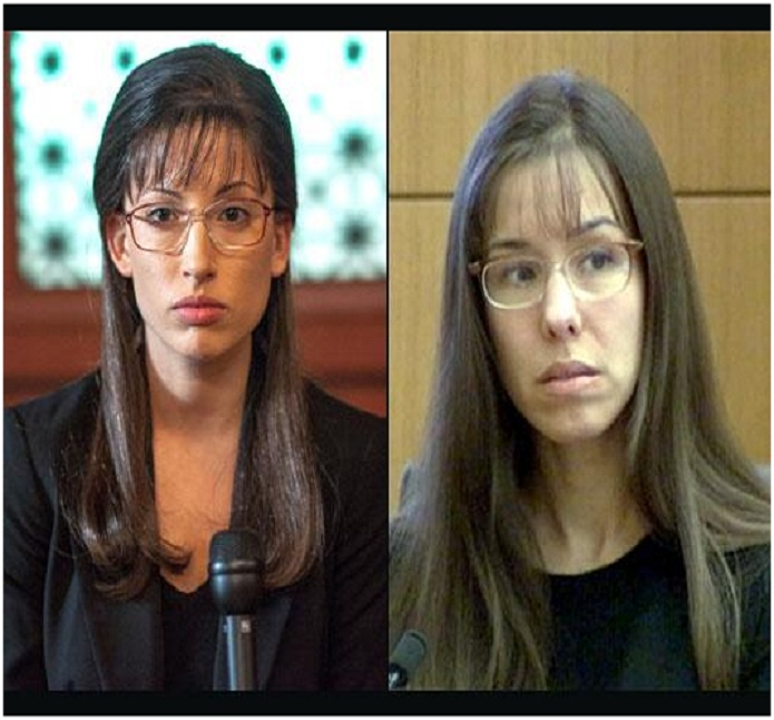Tania Raymonde & Jodi Arias-15 Surprising Celebrity Lookalikes That You Haven't Noticed