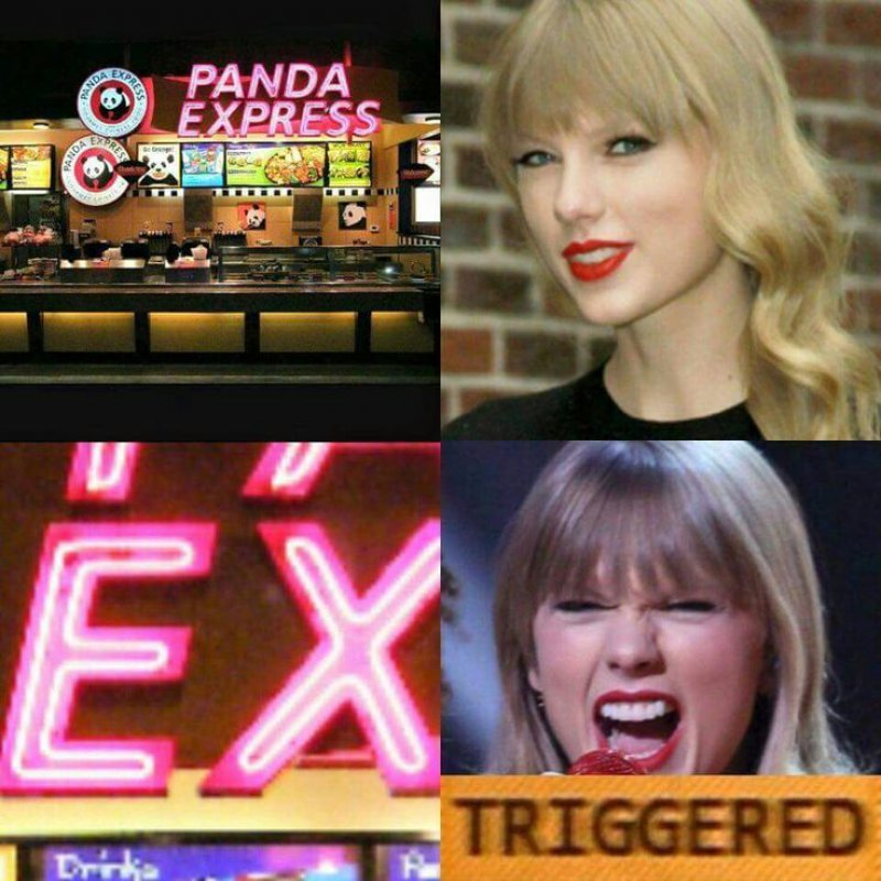 Taylor Swift Triggered!-12 Hilarious Triggered Memes That Are Sure To Make Someone Triggered