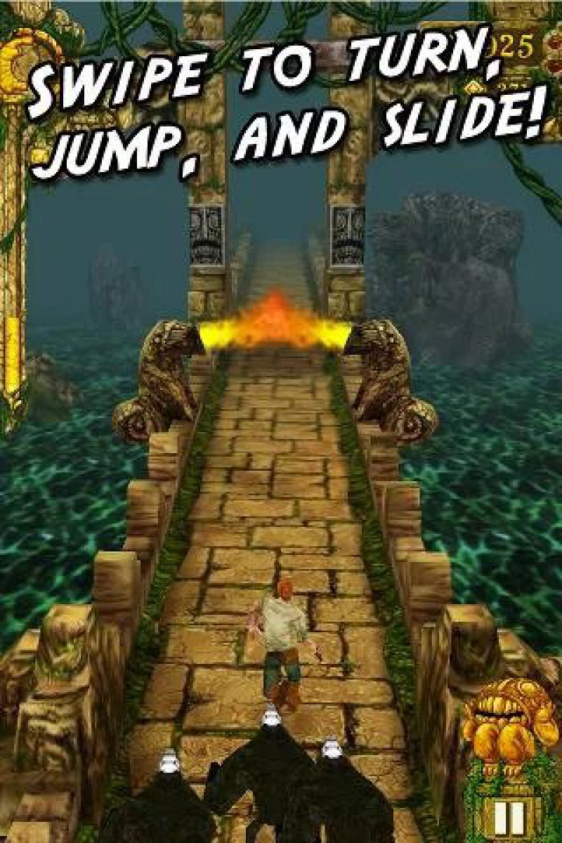 Temple Run-12 Best Jumping Games For IOS And Android