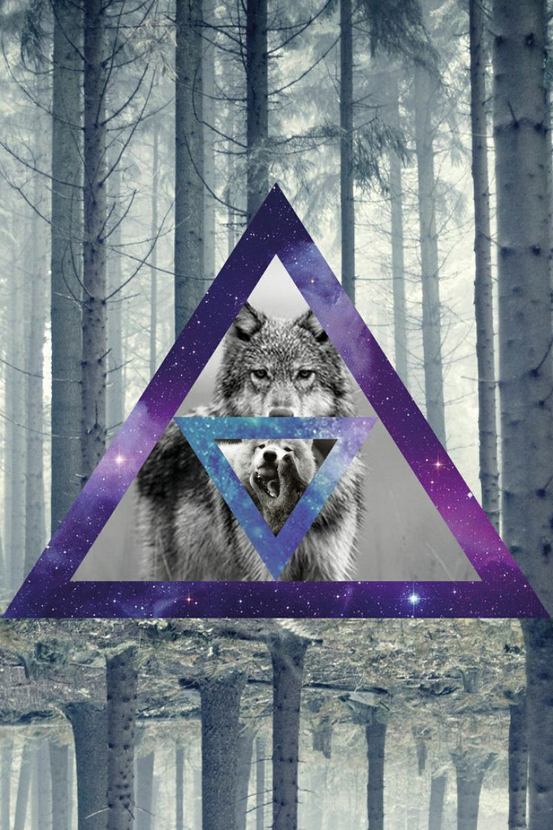 The Hipster Triangle-12 Amazing Hipster Art Pictures You Must See If You're A Hippy