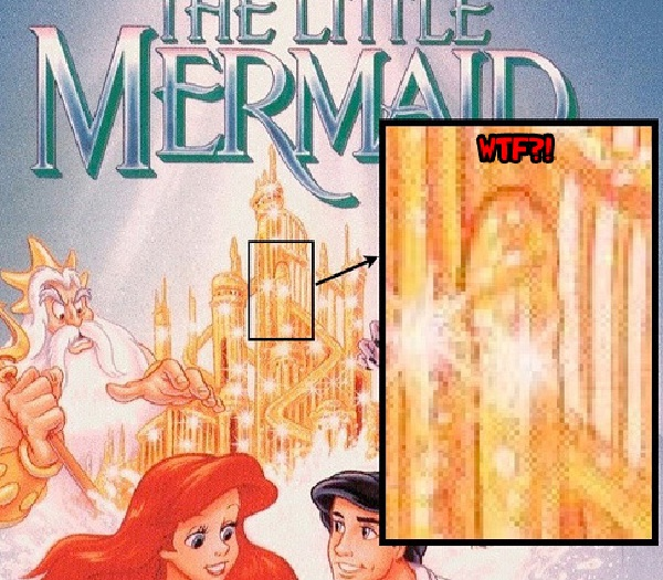 The Little Mermaid-15 Disney Subliminal Messages That Will Blow You Away