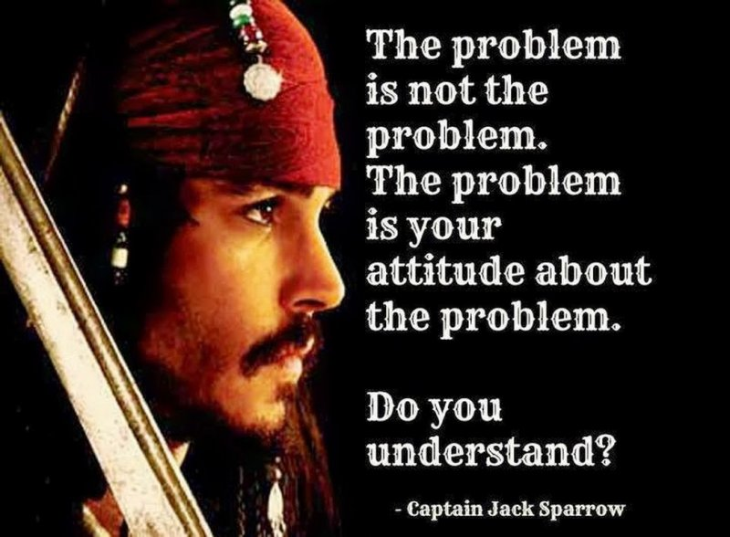 The Problem Is Not The Problem!-12 Inspirational Johnny Depp Quotes