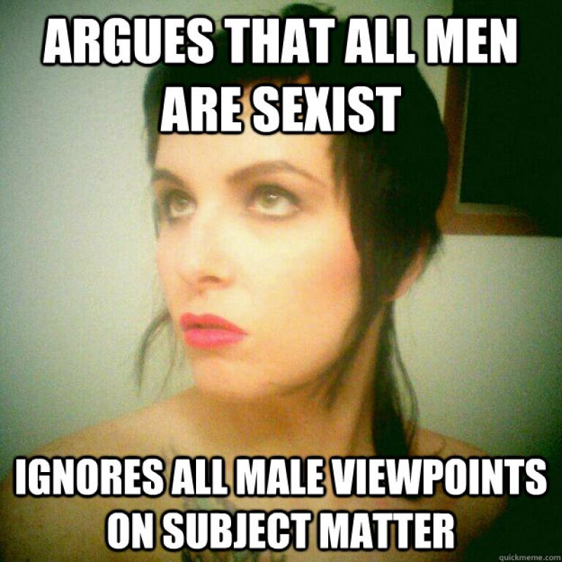 The Reason Why Most Men Hate Feminists-12 Funny Feminist Memes That Are Sure To Trigger Some Feminists