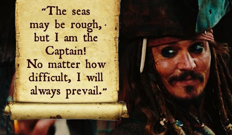 The Seas May Be Rough-12 Inspirational Johnny Depp Quotes