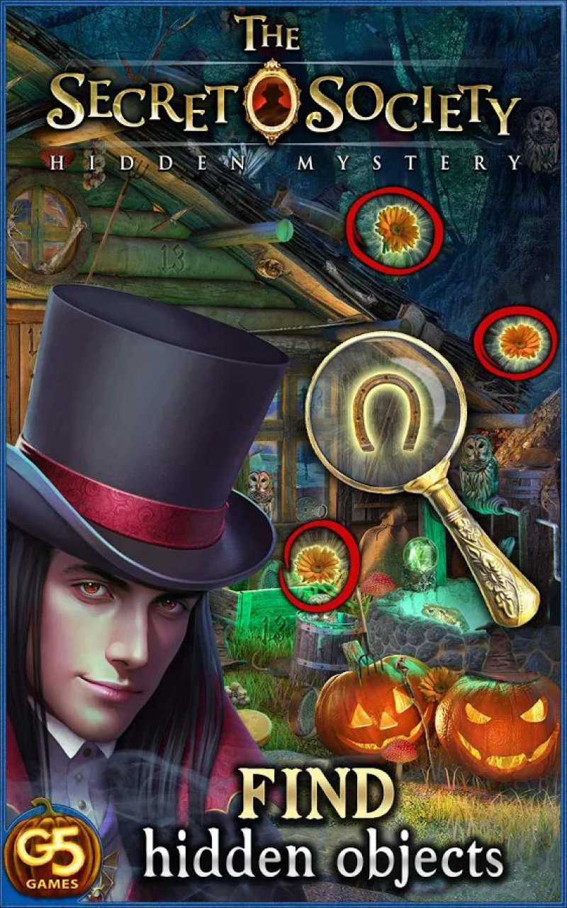 The Secret Society-12 Best Hidden Object Games For IOS And Android