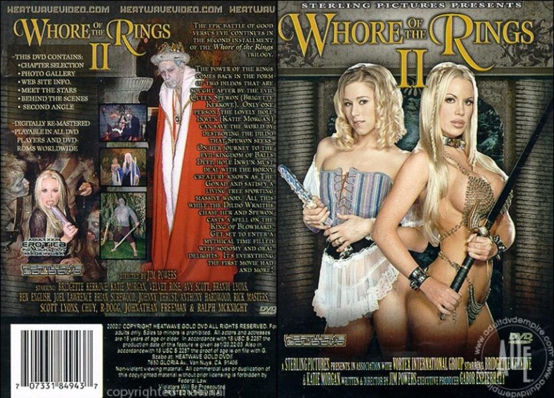 Whore of the rings xxx parody
