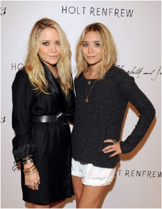The Olsen Twins Wore Fake Teeth on