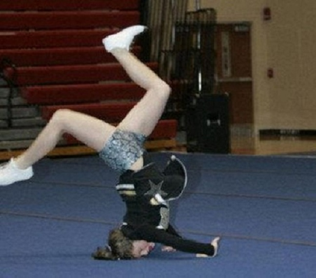 The acrobat-Top 15 Cheerleading Fails That Will Make You Lol