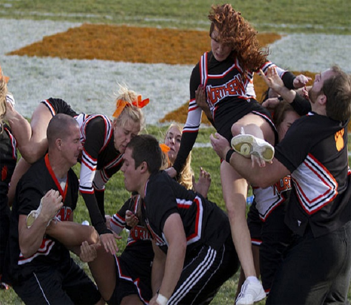 The collapse-Top 15 Cheerleading Fails That Will Make You Lol