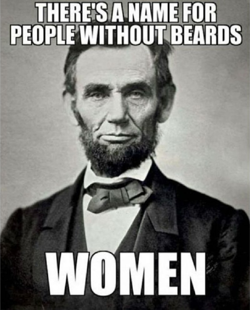 There's A Name For People Without Beards-12 Funny Beard Memes That Will Make You Lol