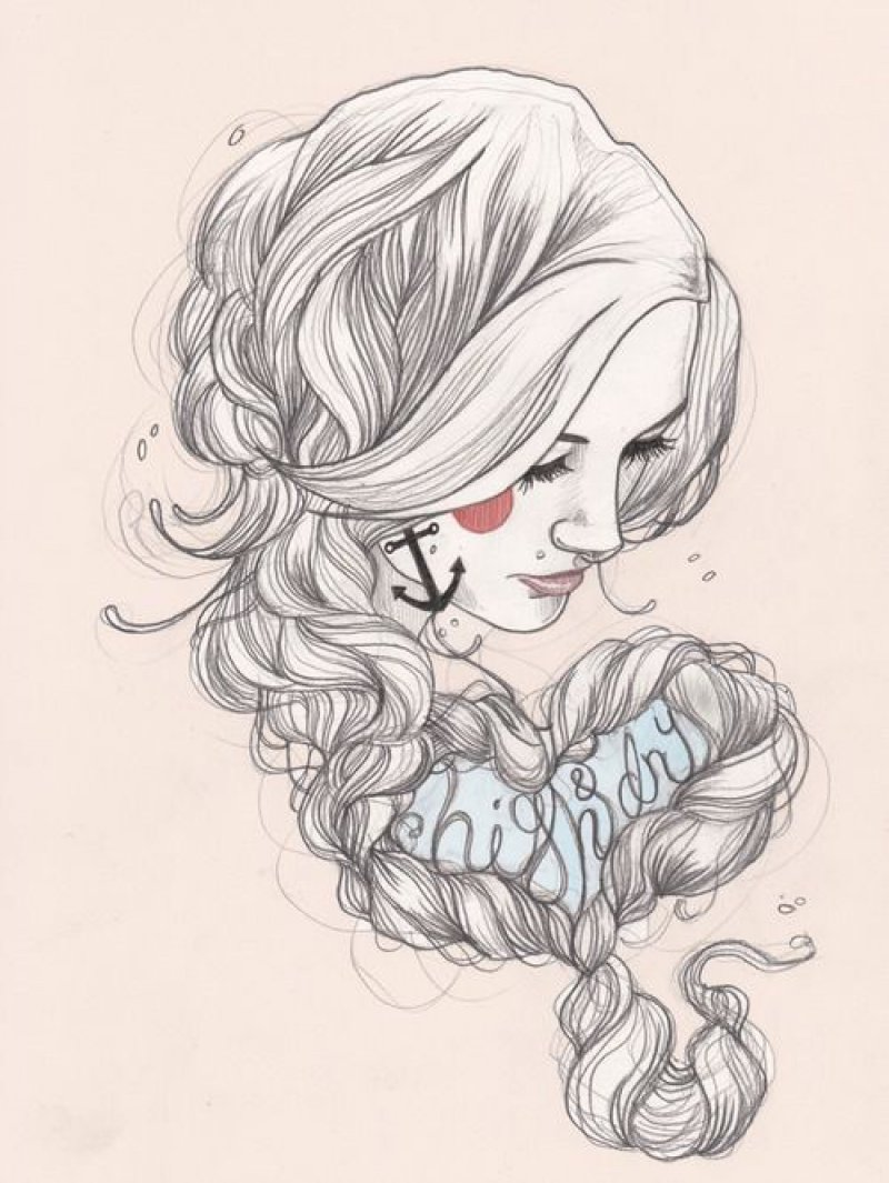 This Beautiful Girl Art-12 Amazing Hipster Art Pictures You Must See If You're A Hippy