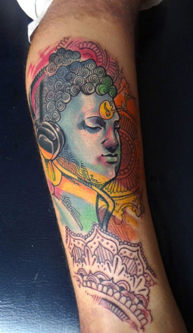 This Creative Buddha Tattoo-12 Amazing Buddha Tattoos That Will Make You Say I Want One