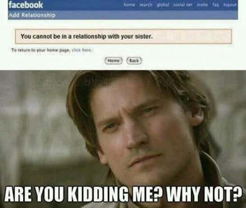 This Funny Jaime Lannister Meme!-12 Funny Game Of Thrones Memes That Are On Point