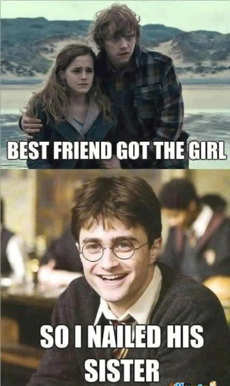 This Hilarious Harry Potter Meme-12 Best Friend Memes That Will Make You Say So Us