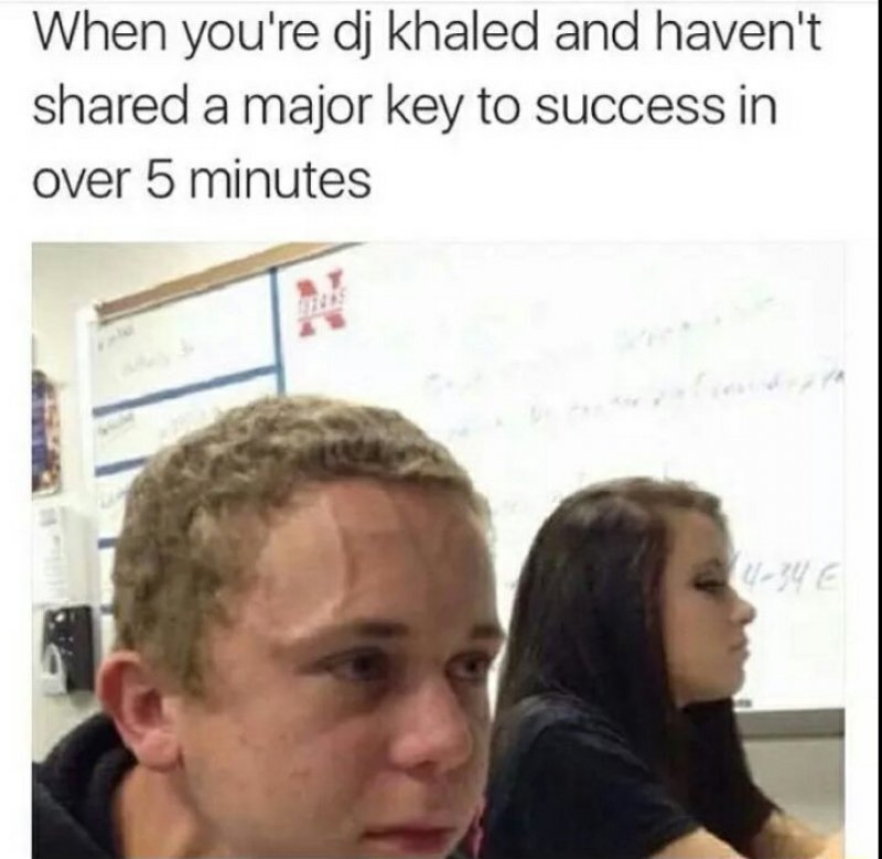 """This Hilarious Post About DJ Khaled-12 Funny """"Kid Who Needs To Fart"""" Memes"""