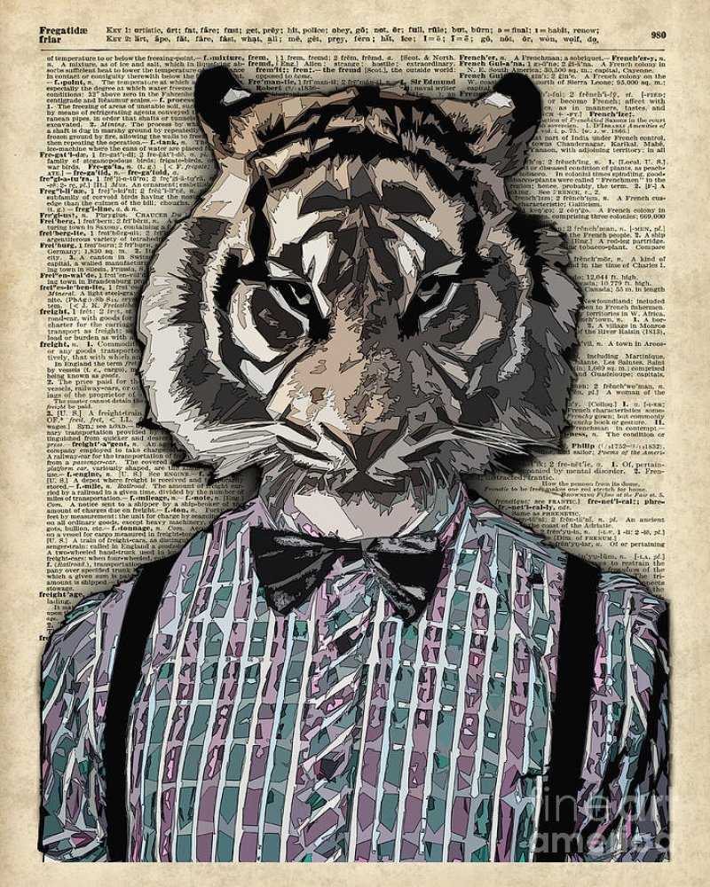 This Human-Tiger Art-12 Amazing Hipster Art Pictures You Must See If You're A Hippy