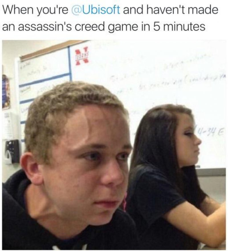 """This Meme About Ubisoft-12 Funny """"Kid Who Needs To Fart"""" Memes"""