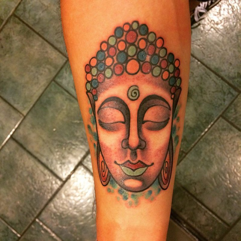This Simple Buddha Tattoo-12 Amazing Buddha Tattoos That Will Make You Say I Want One
