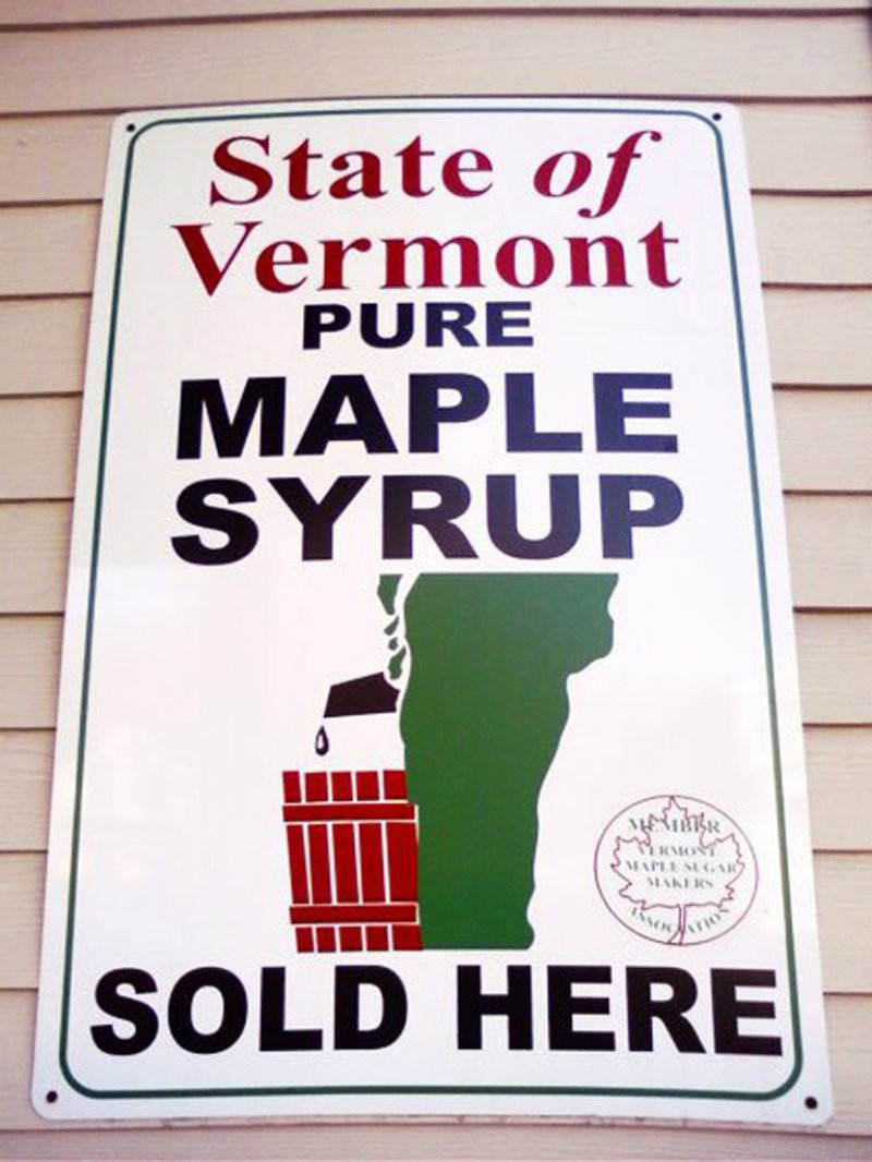 This State Of Vermont Pure Maple Syrup Logo-15 Hilarious Logo Fails That Make You Say WTF!
