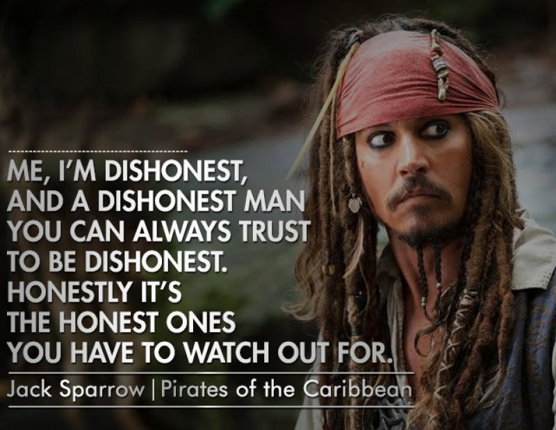This Thought-Provoking Jack Sparrow Quote-12 Inspirational Johnny Depp Quotes