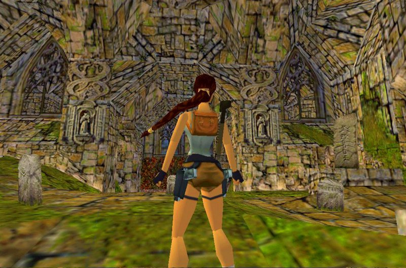 Tomb Raider I  -15 Best Old But Gold Video Games Of 90's