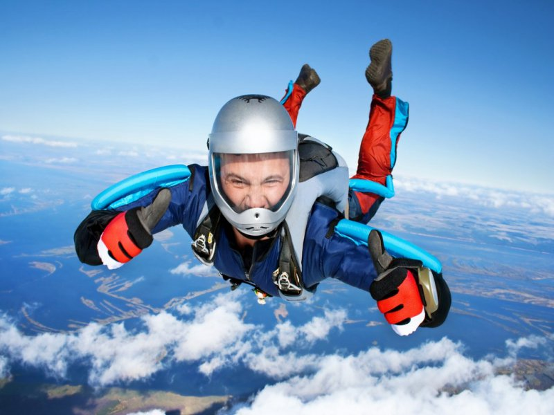 Try Skydiving Or Ride A Roller Coaster-12 Weird Ways To Get High Without Using Drugs Or Weed