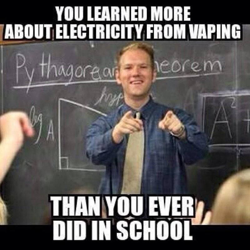 Vaping And Electricity-12 Hilarious Vape Memes That Will Make Lol