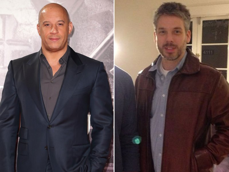 Vin Diesel-12 Celebrities You Didn't Know Had A Twin Sibling