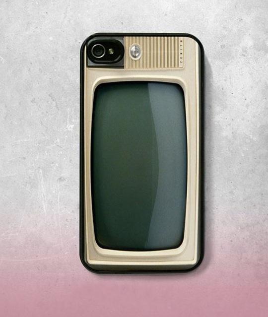 Vintage TV-Top 15 Craziest IPhone Cases
