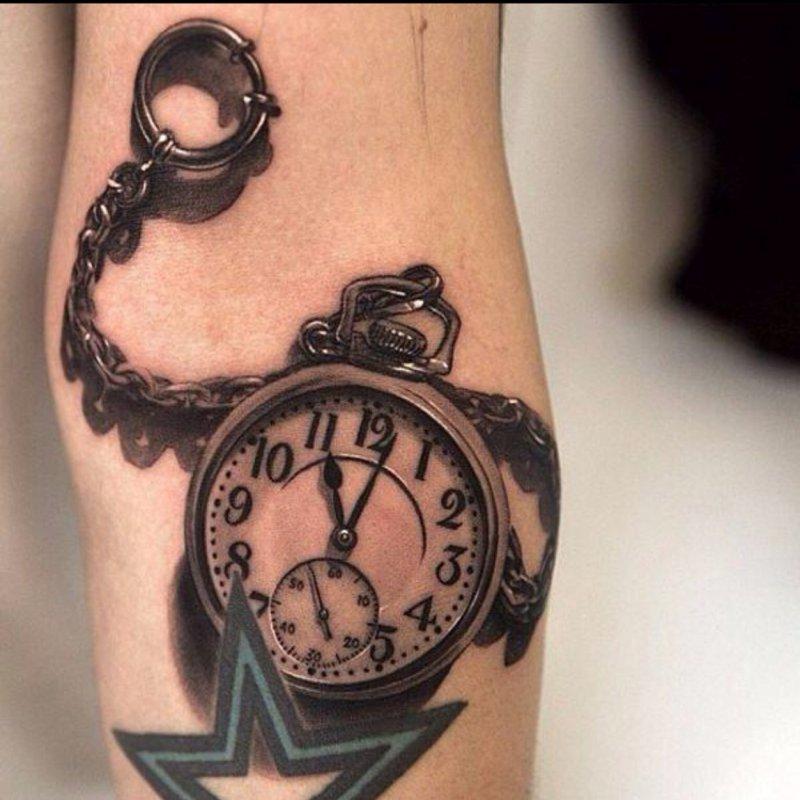 Watch 3D Tattoo-15 Fantastic Three Dimensional Tattoos That Will Blow Your Mind