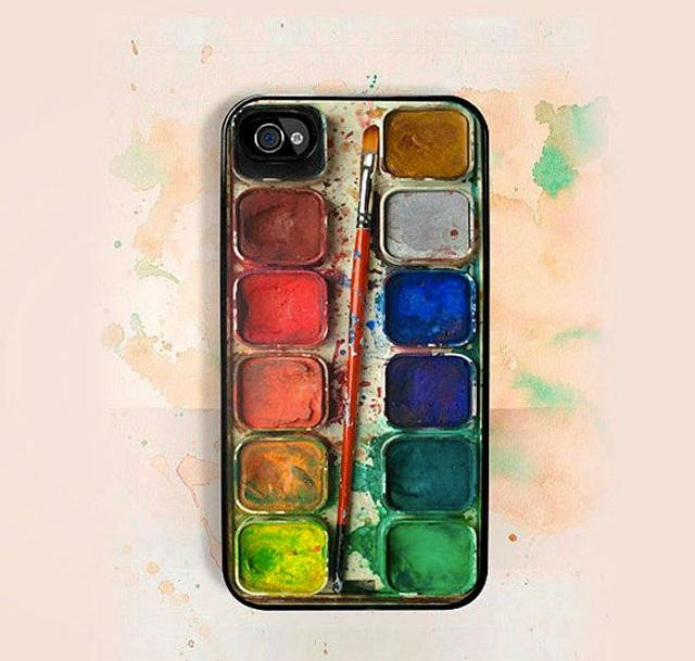 Watercolors look-Top 15 Craziest IPhone Cases