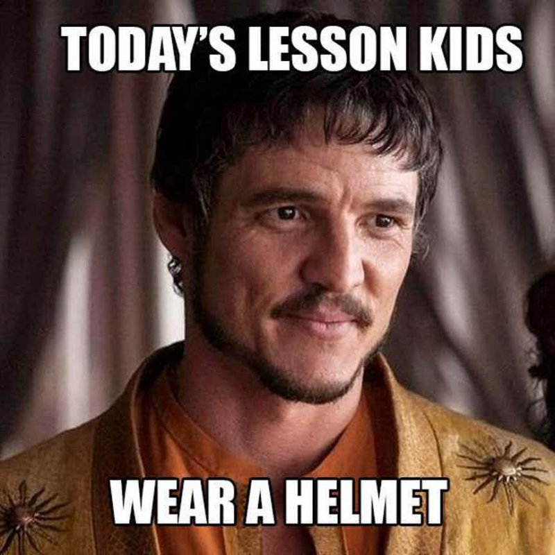 Wear A Helmet!-12 Funny Game Of Thrones Memes That Are On Point