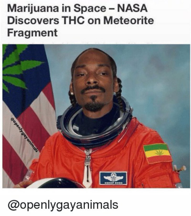 Weed In Space!-12 Funny Weed Memes That Are Sure To Get Your Sense Of Humor High