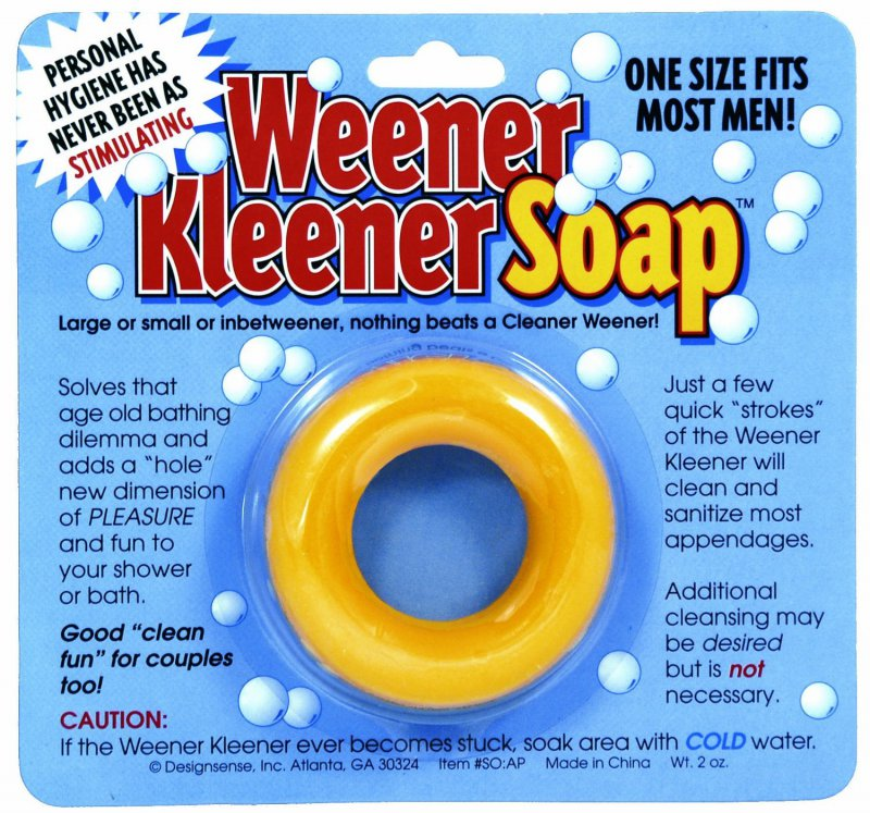 Weener Kleener Soap-12 Hilarious And Creative Soap Bars