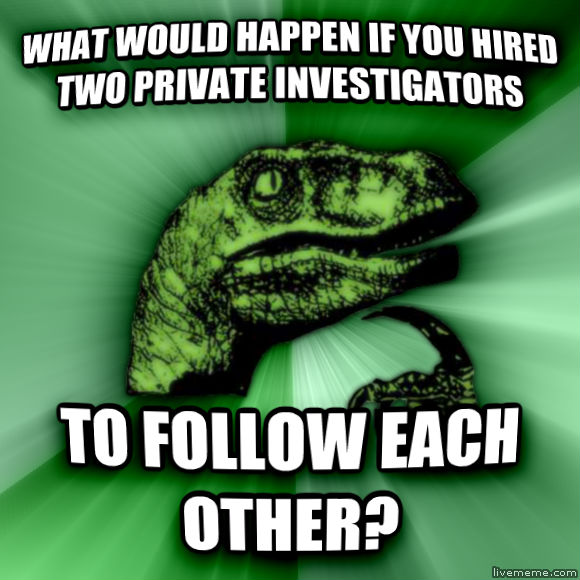 What Would Happen If I Hired Two Private Investigators To Follow Each Other?-12 Funny Things People Google