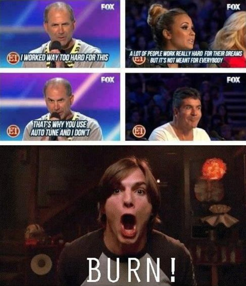 When Demi Lovato Got Burned By An X Factor Contestant-12 Funny Kelso Burn Memes That Will Make You Lol