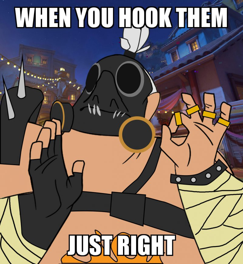 When You Hook Them Just Right-12 Hilarious Overwatch Memes That Are Sure To Make You Lol