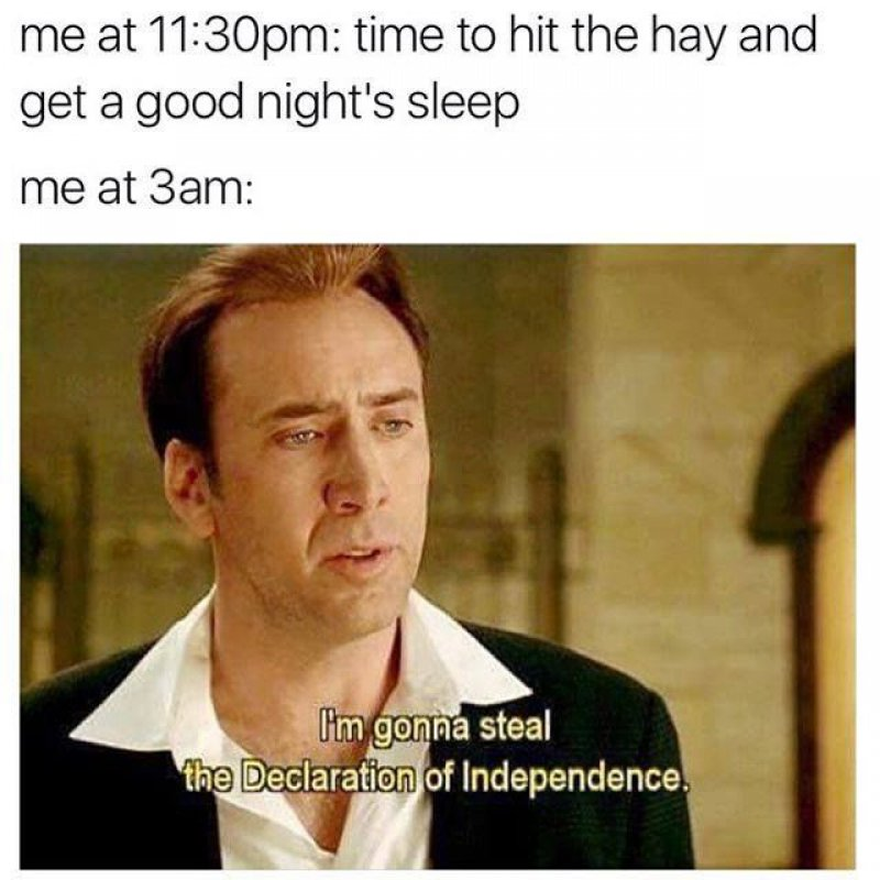 When You Sincerely Try To Sleep -12 Funny Sleep Memes That Will Make Your Day