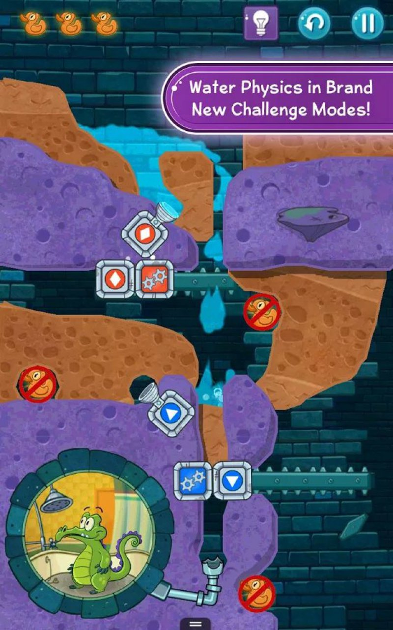 Where's My Water? 2-12 Best Puzzle Games For Android And IOS